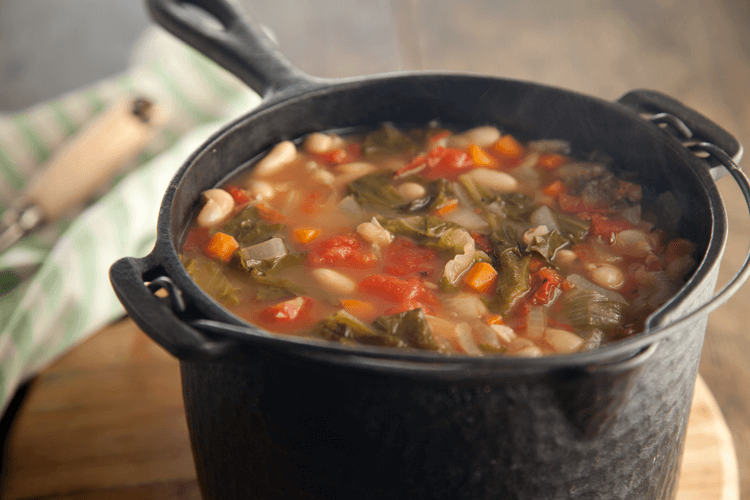 Hearty Greens and Beans Soup Recipe