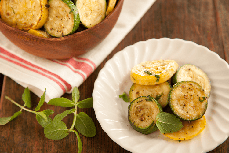 Pan-Seared Summer Squash Medley Recipe with Lemon and Mint